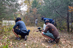 Paintball activity at S2L Recovery's Christian drug rehab center in Tennessee